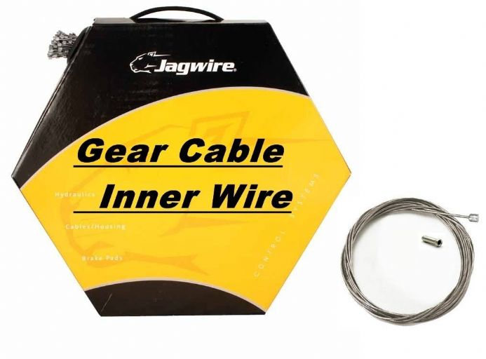 JAGWIRE Shimano Inner Bike Gear Cable Wire Galvanised, Slick Stainless, Pro, Elite Ultra